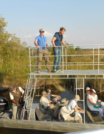 Okavango Delta Day Trip: Option 2