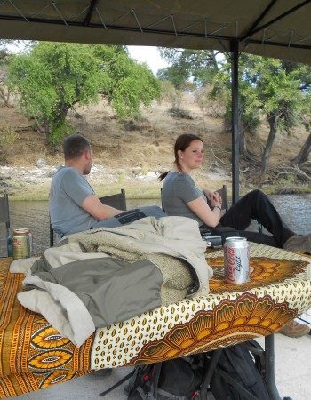 Boat Cruise in Chobe