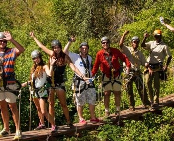 Canopy Tour (The Perfect Family Activity)